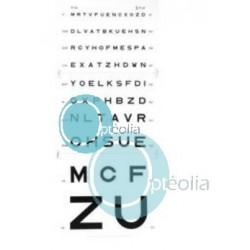 Echelle optométrique murale Monoyer