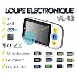 loupe électronique de poche 11cm PC TV