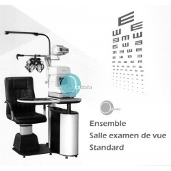 Salle d'examen de vue STANDARD pour opticien