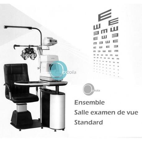 Ensemble salle d'examen de vue STANDARD pour opticien