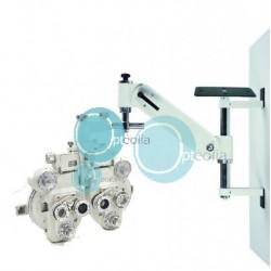Salle d'examen de vue pour opticien, modèle MINI avec siège patient motorisé