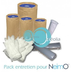 Pack entretien bac filtration Neimo