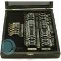 boite d'essai 68 pièces cerclées métal cylindres +/-