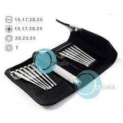 Pochette petits outils spécial lunettes