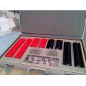 Mallette de test 232 pièces en plastique valise alu