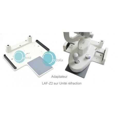accessoire de montage lampe à fente sur unité de réfraction