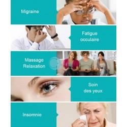 Bandeau de massage et relaxation des yeux