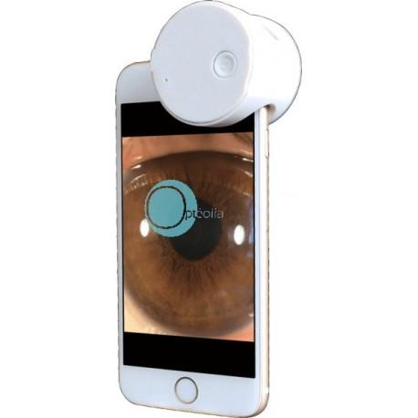 Adaptateur d'imagerie oculaire pour smartphone
