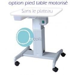 Plus-value pied de table motorisé pour lampes à fente