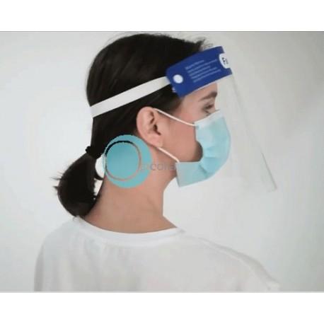 visière de protection du visage