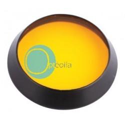 filtre jaune pour lampe à fente