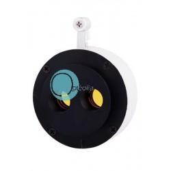 Module filtre jaune binoculaire pour lampe à fente