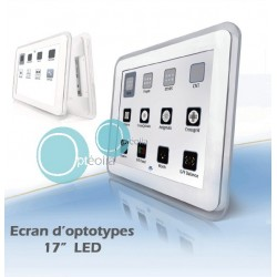 Ecran d'optotypes LCD 17""