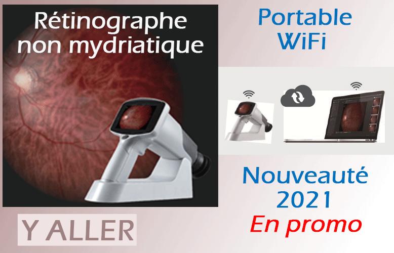 Rétinographe non mydriatique portable