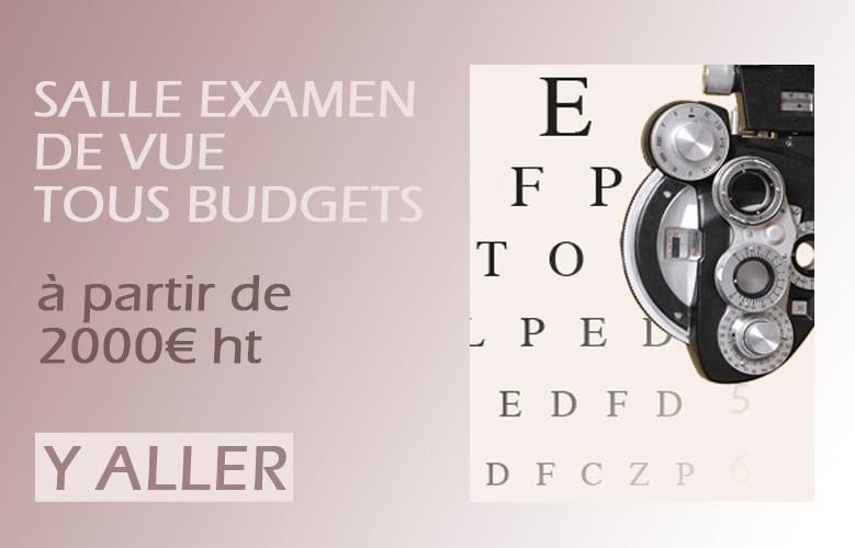 Salles examen de vue